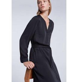 SET Feminine tunic dress with belt