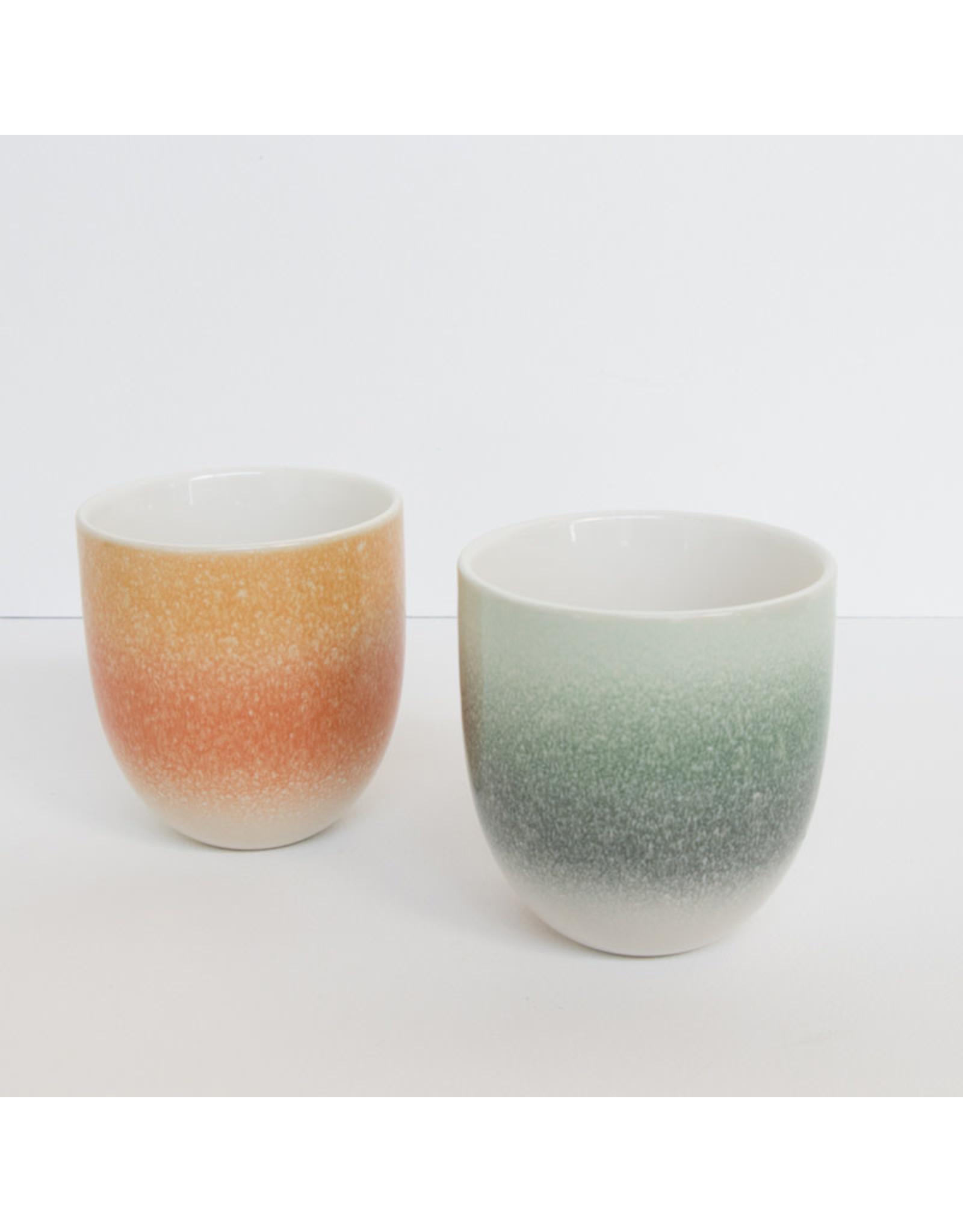 UNC Amsterdam Mug reactive glaze Orange foam