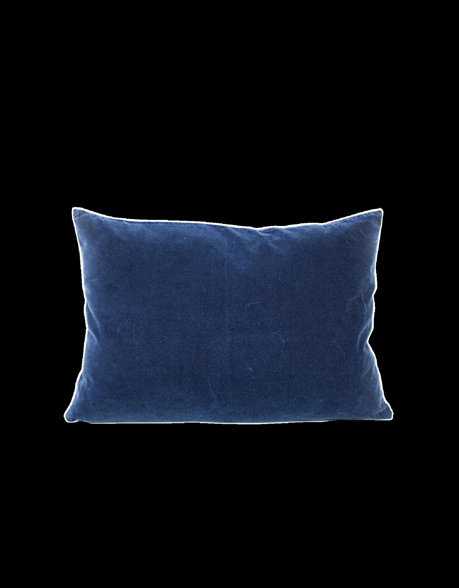 UNC Amsterdam Cushion Vintage Velvet Graystone 104552