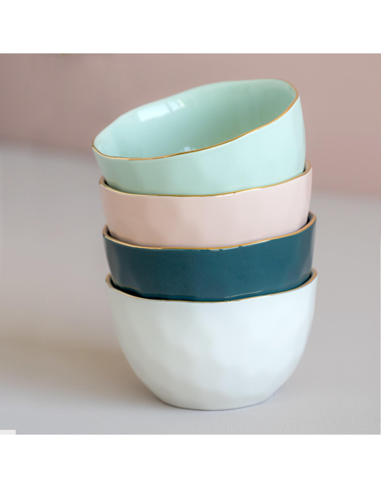 UNC Amsterdam Good morning bowl blue green 105243