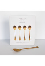 UNC Amsterdam Spoon gold set of 4