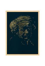"""Rembrandt type 1"" Letterhead Gold Print colour Dark Forest (REM1GOLD25)"