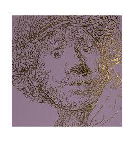 """""""Rembrandt type 2"""" Letterhead Gold Print colour Pale Purple (REM2GOLD33)"""