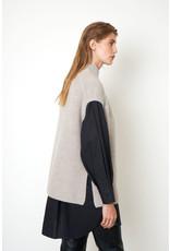 Second Female Belle Knit New Vest Cement
