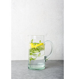 UNC Amsterdam RECLYCLED GLASS, CARAFE, TRANSPARANT,