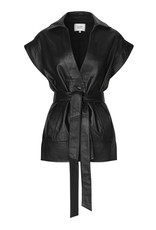 Second Female Indie Leather Waistcoat