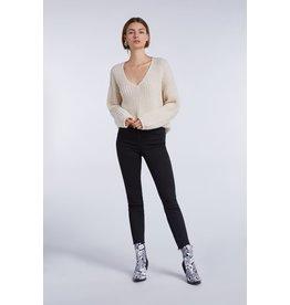 SET Neva alpaca blend V-neck jumper