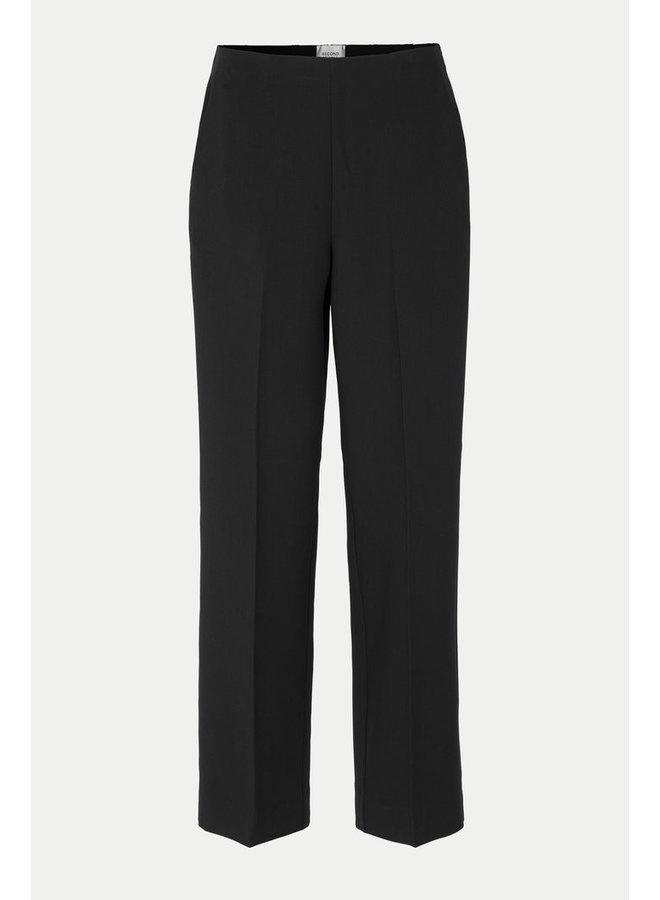 Second Female Evia Trousers Zwart