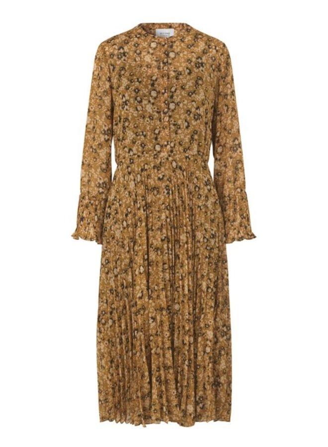 Second Female Tarok Maxi Dress Print