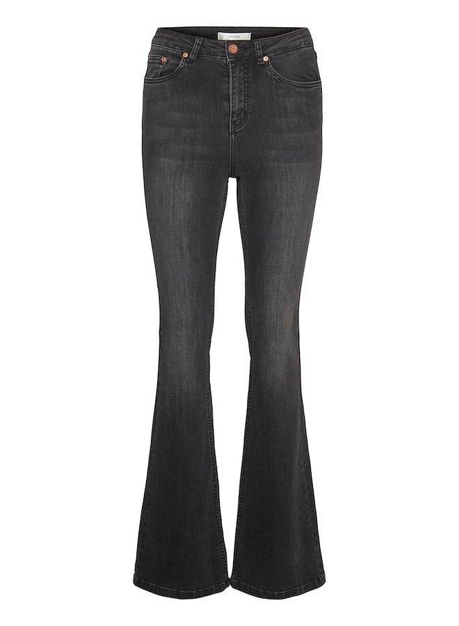 Gestuz Emilinda Emily Flared Jeans Zwart
