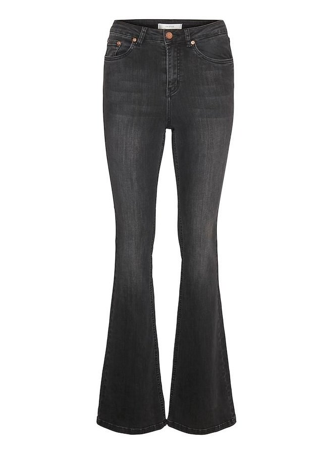Gestuz Emily Flared Jeans Zwart
