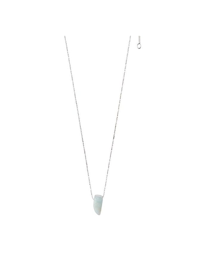 Amazonite ketting zilver