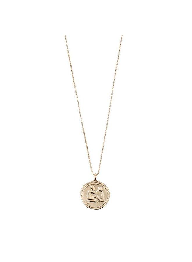 Aquarius horoscoop ketting goud
