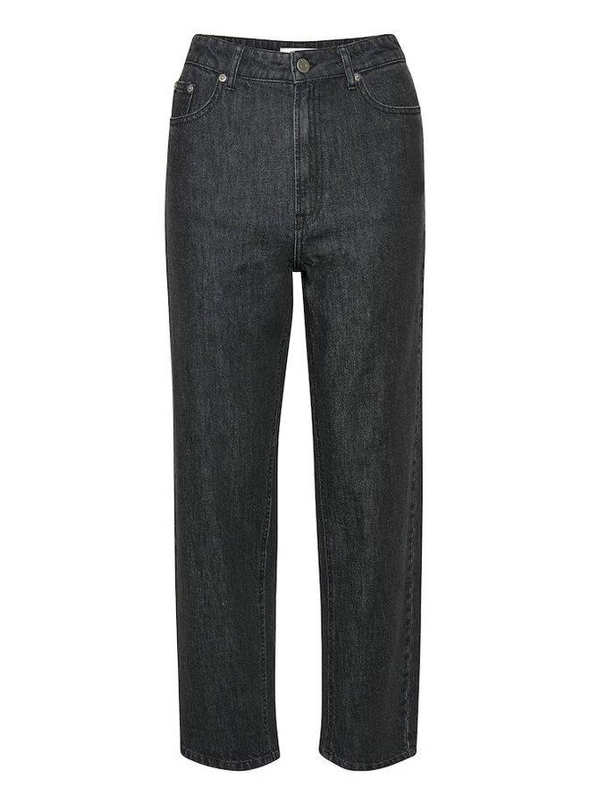 Gestuz Dacy Straight Jeans Zwart