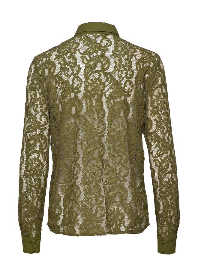Rosemunde Shirt LS Groen