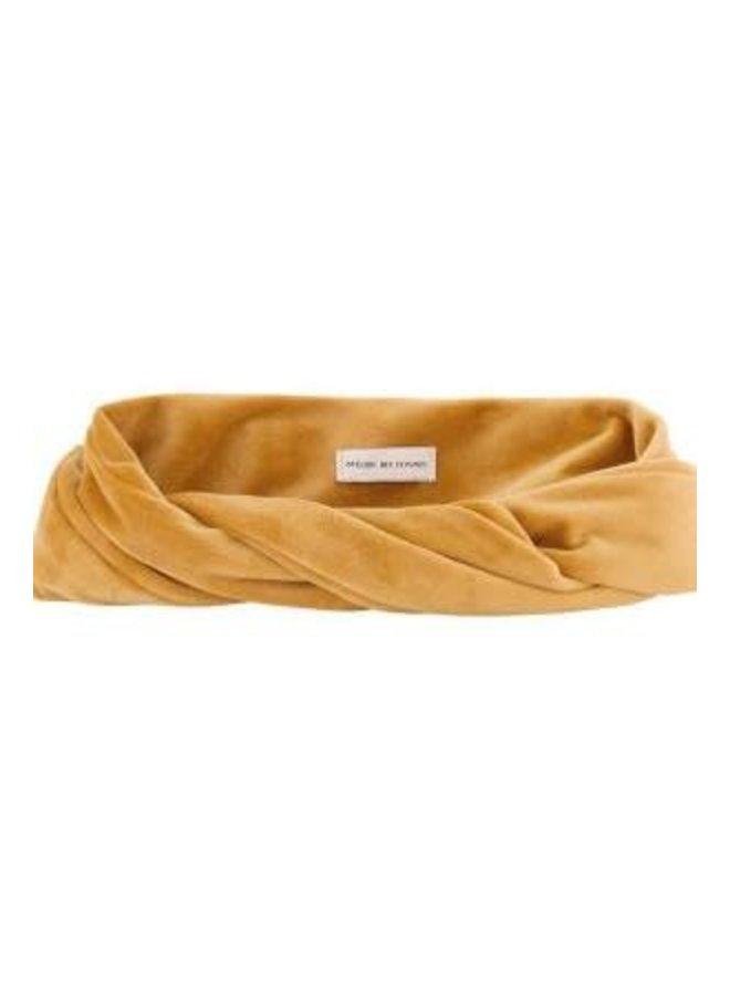Atelier Des Femmes Velvet Geel Haarband
