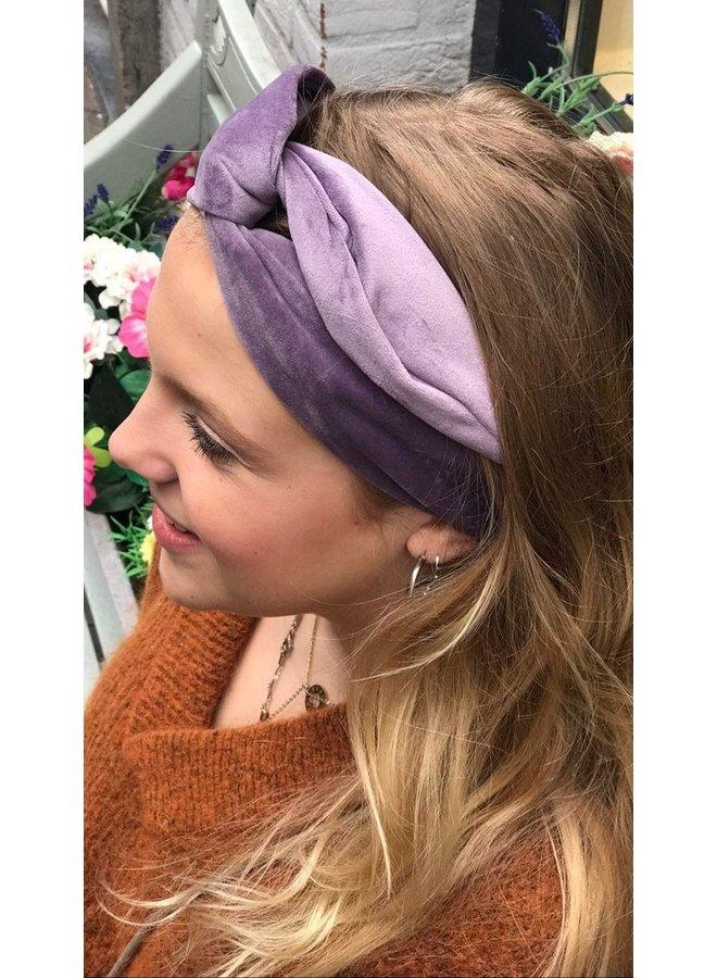 Atelier Des Femmes Velvet Lila Haarband