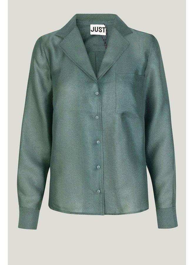 Just Female Mae Shirt Groen
