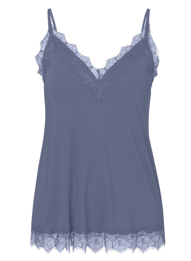 Rosemunde Strap Top Blauw