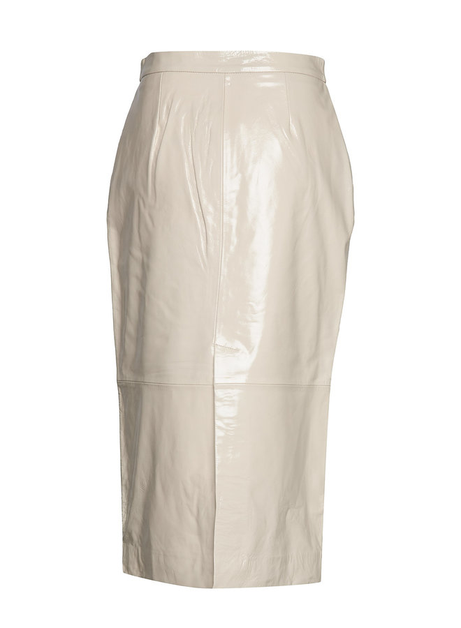 2nd Day Edition Laila Leahter Skirt Off White