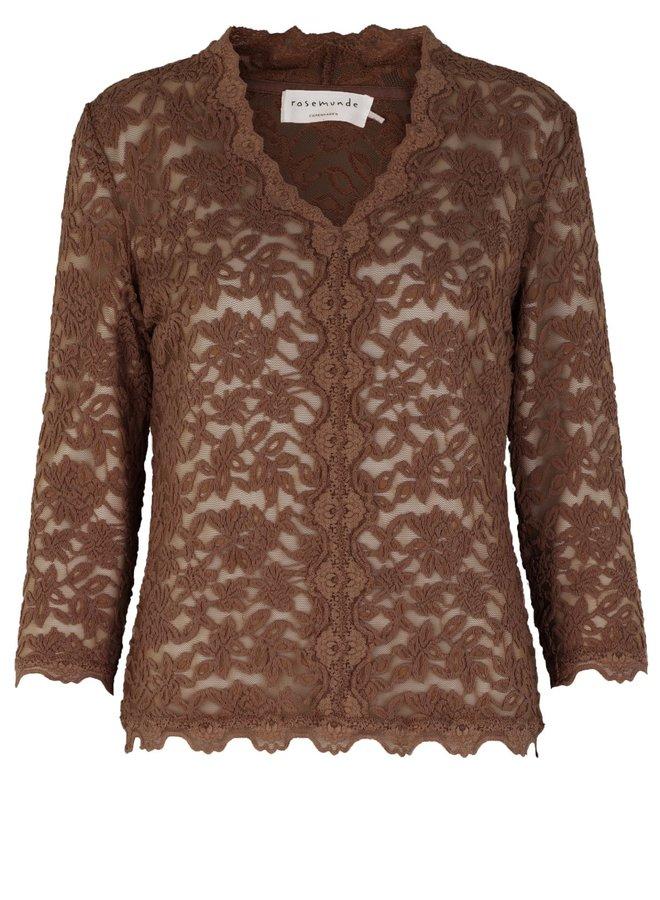 Rosemunde T-Shirt 3/4 4939 Bruin