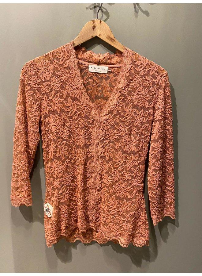 Rosemunde T-Shirt 3/4 Oud Roze