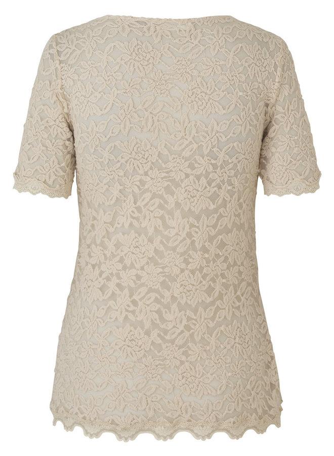 Rosemunde T-Shirt ss Offwhite