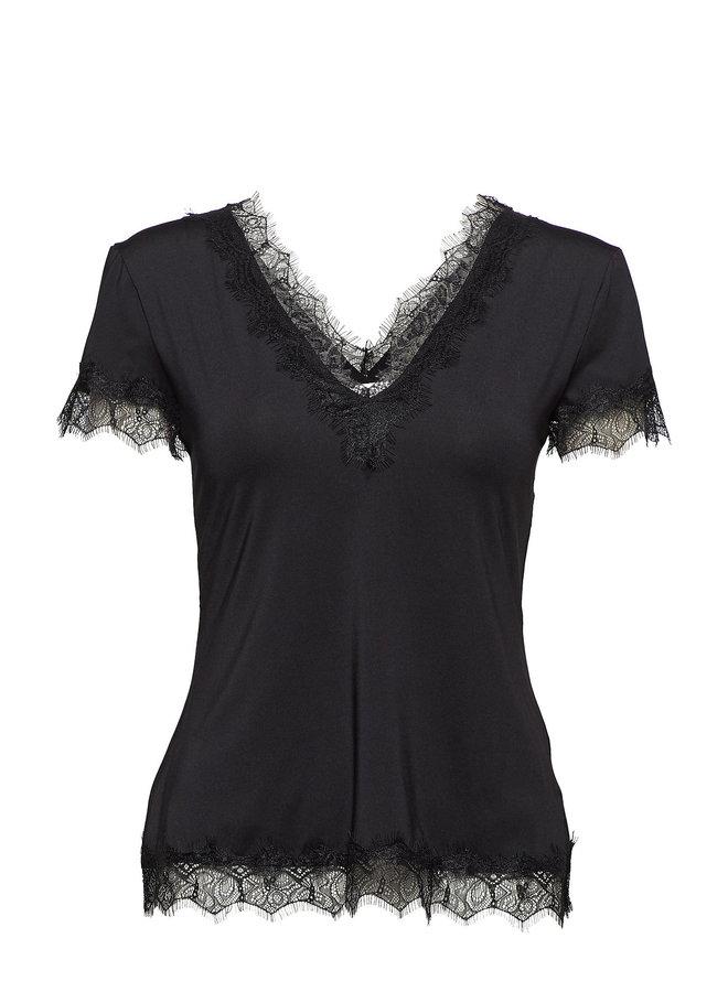 Rosemunde T-shirt Zwart