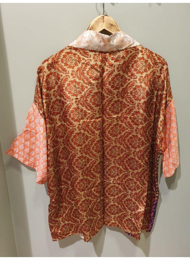 Sissel Edelbo Lotus Short Kimono Mix Nr. 2