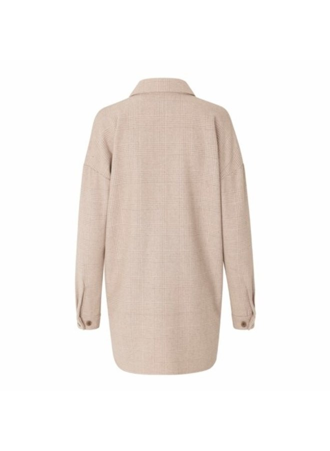 Just Female Pearl Long Shirt Print