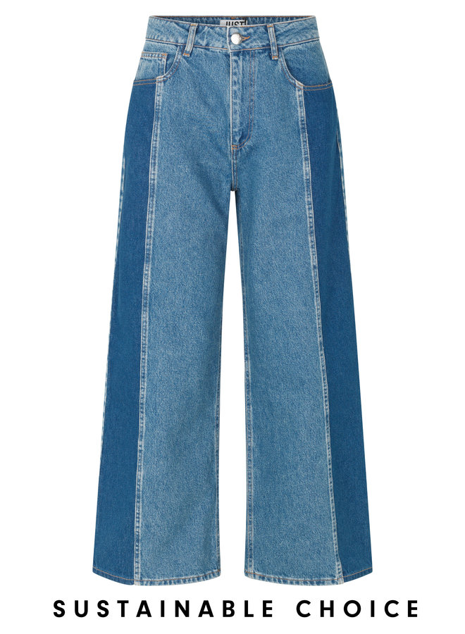 Just Female Calm Jeans Middle Blue Mix
