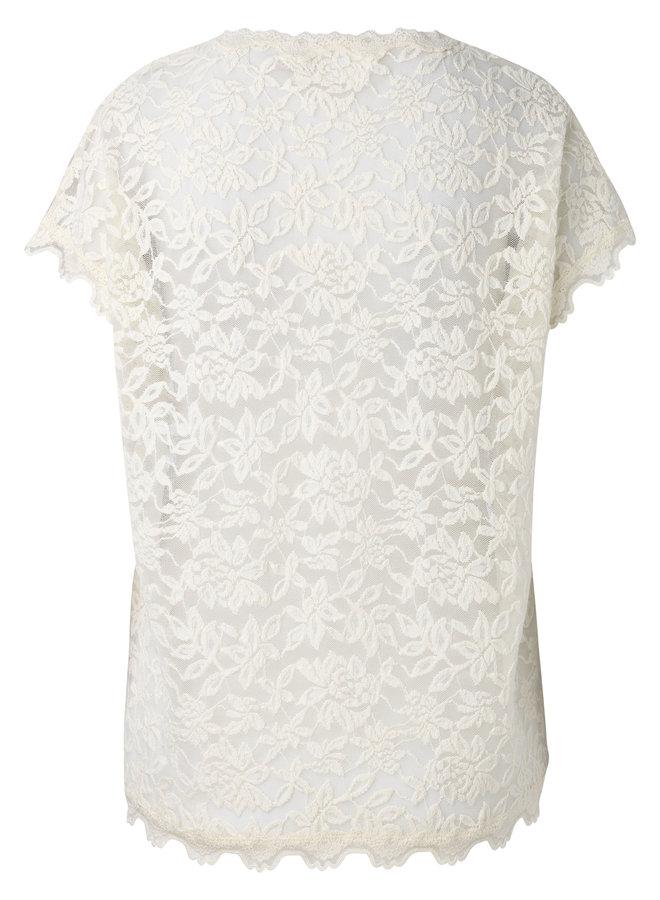 Rosemunde T-shirt Ivory 5752