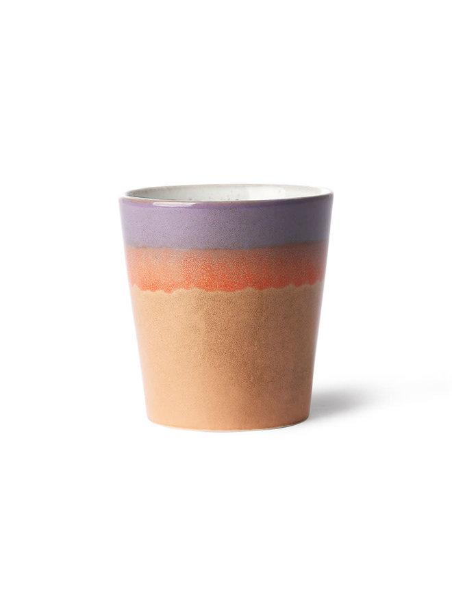 HK Living 70s ceramics Mug - Sunset