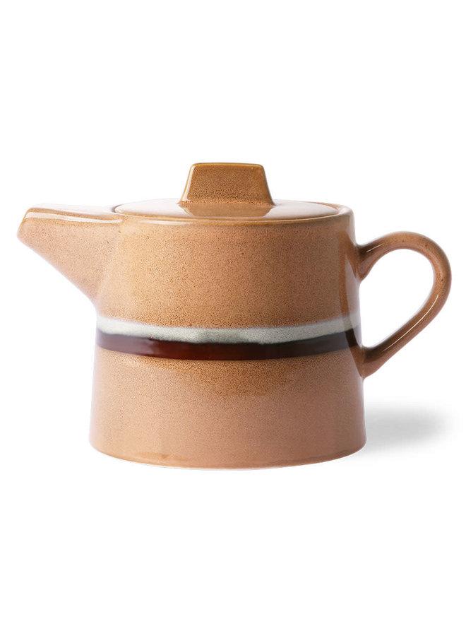HK Living 70s ceramics Tea Pot - Stream