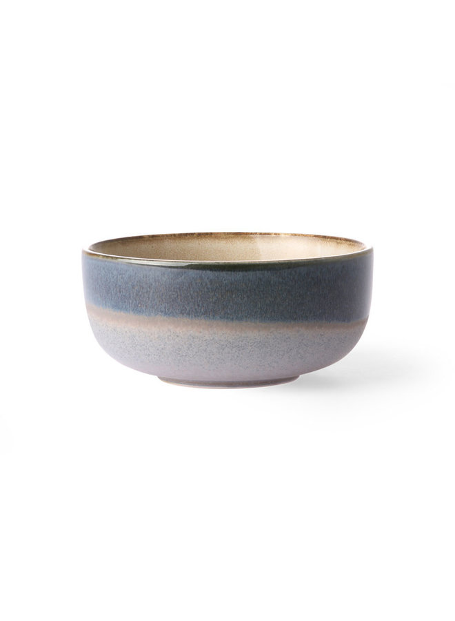 HK Living 70s ceramics Bowl Medium - Ocean