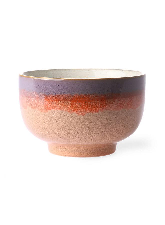 HK Living 70s ceramics Bowl - Sunset