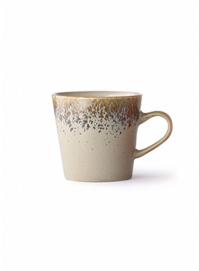 HK Living 70s ceramics Americano Mug - Bark