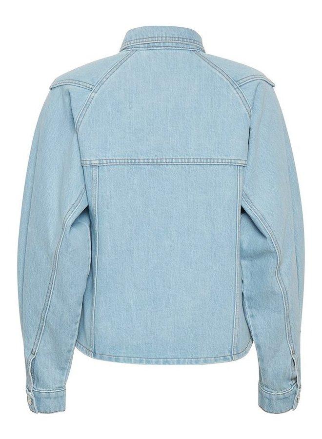 Gestuz Dacy Shirt Light Blue Vintage