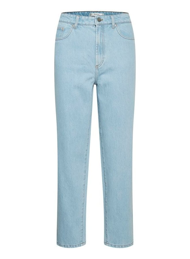 Gestuz Dacy Straight Jeans Light Blue Vintage