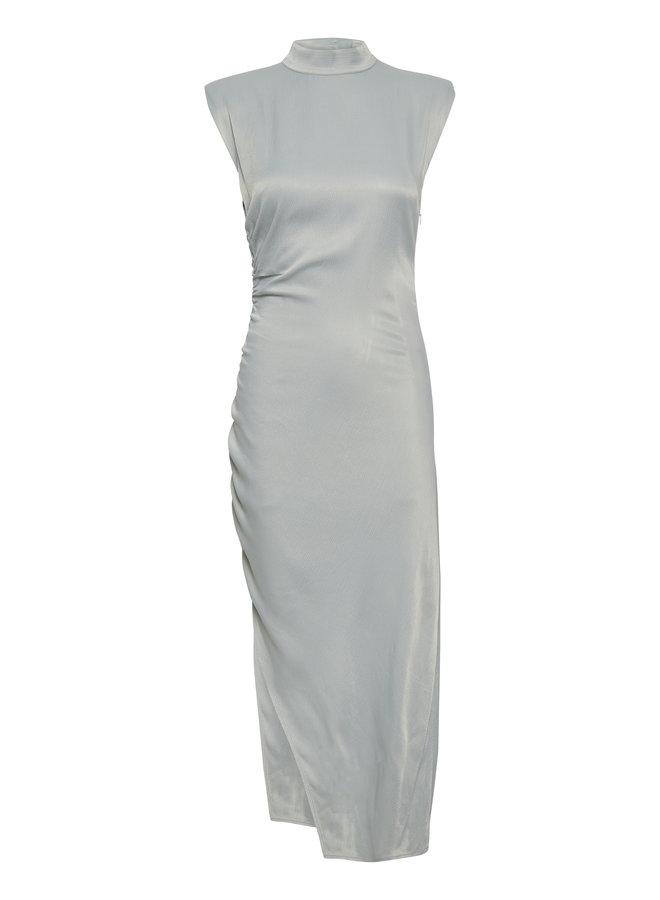 Gestuz Sunna Long Dress Slate Gray