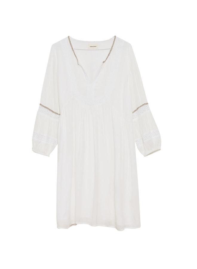 Maison Hotel Cecile Dress Lace et Perles white