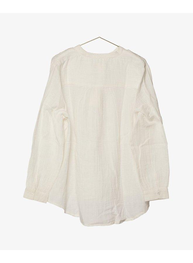 Sissel Edelbo Emily Organic Cotton Shirt White One Size