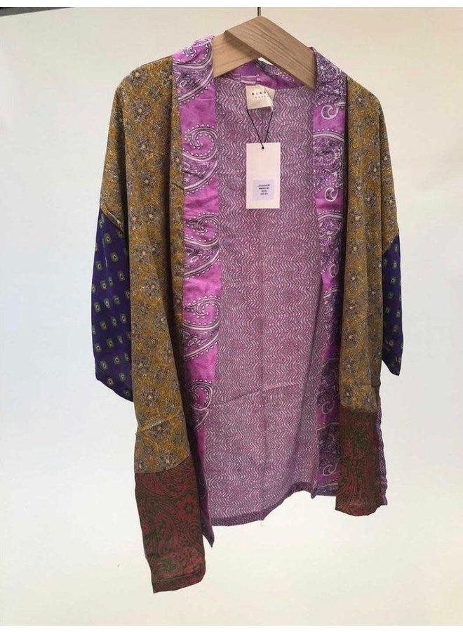 Sissel Edelbo Lotus Short Kimono Mix Nr. 11