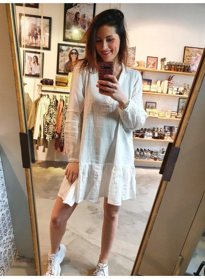 Sissel Edelbo Luna Organic Cotton Dress White