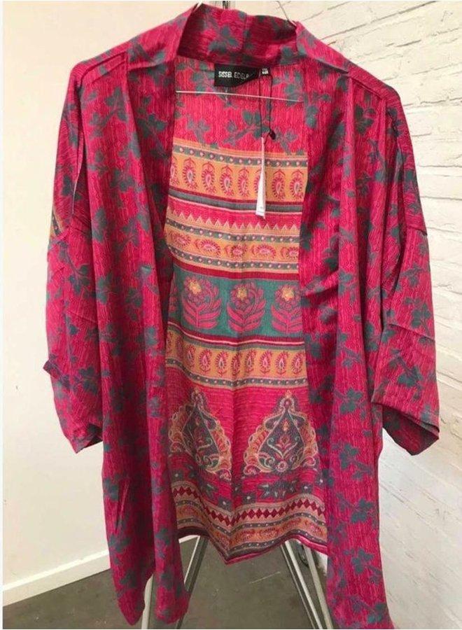 Sissel Edelbo Lotus Short Kimono Mix Nr. 15