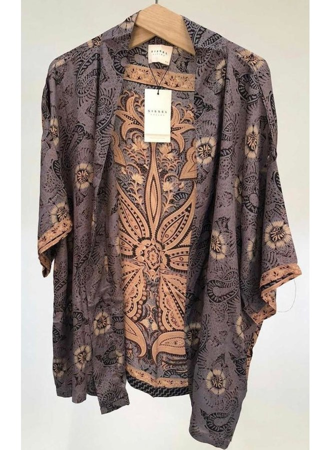 Sissel Edelbo Lotus Short Kimono Mix Nr. 24