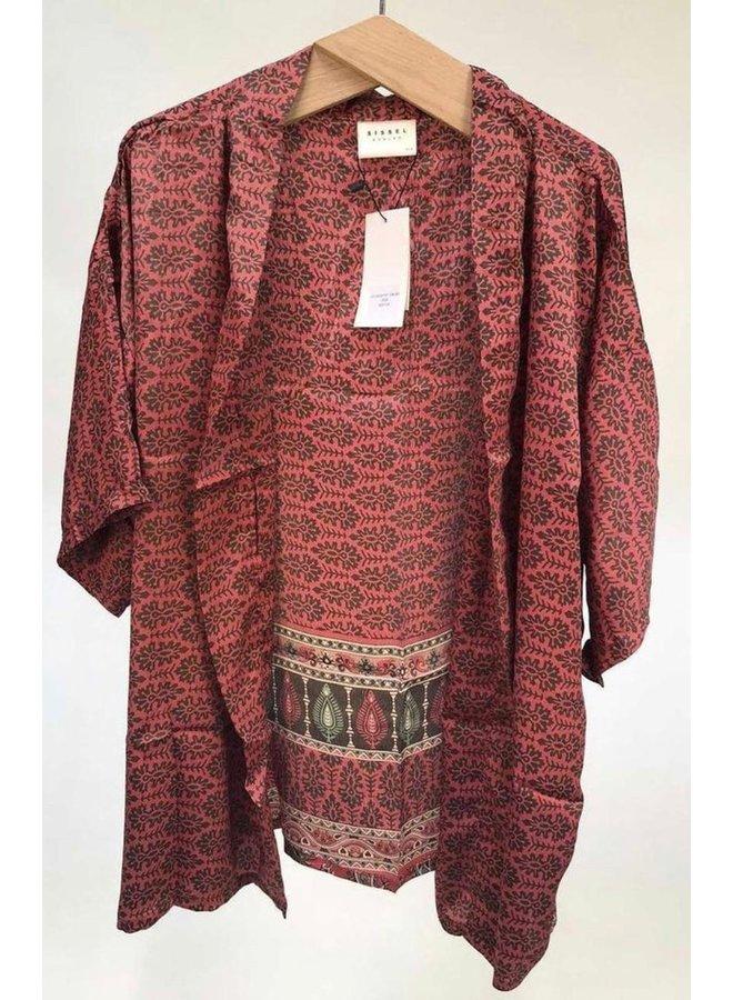 Sissel Edelbo Lotus Short Kimono Mix Nr. 22