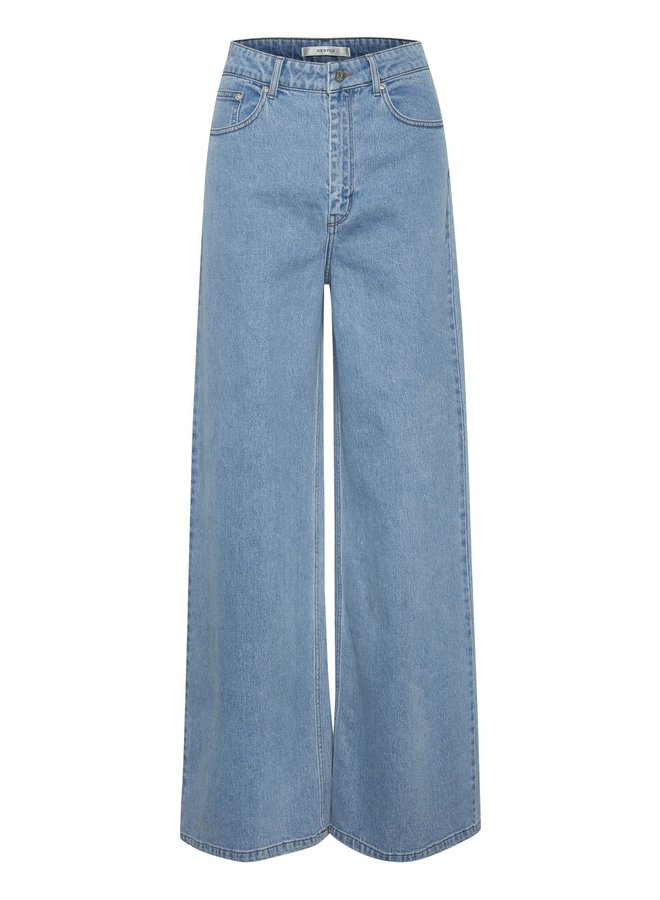 Gestuz Elma Wide Jeans Light Blue