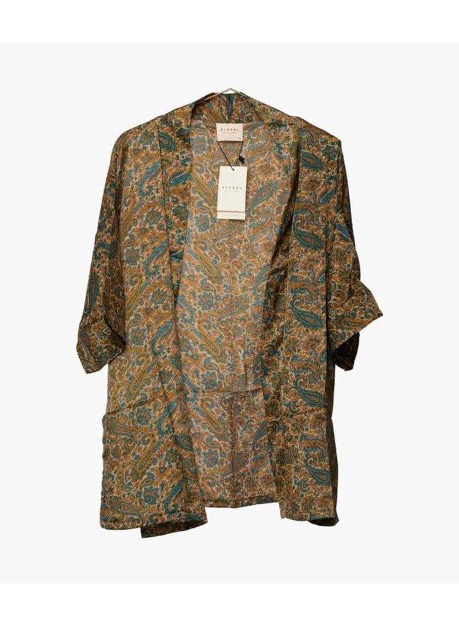 Sissel Edelbo Lotus Short Kimono Mix Nr. 40