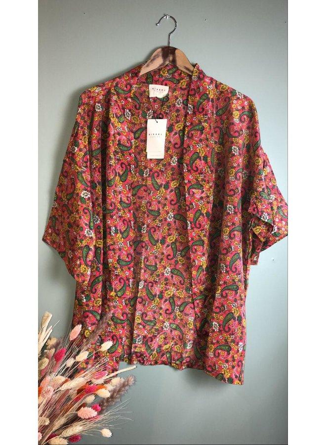 Sissel Edelbo Lotus Short Kimono Mix Nr. 43